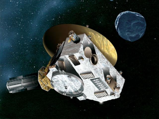 """Станция """"Новые горизонты"""" после завершения миссии у Плутона изучит объекты пояса Койпера (иллюстрация NASA)."""