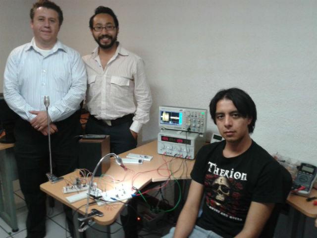 Команда разработчиков новой системы Li-Fi (фото Sisoft).