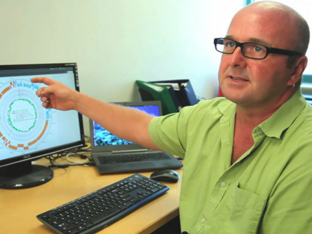 Ведущий автор нового исследования Роберт Эдвардс (фото San Diego State University).