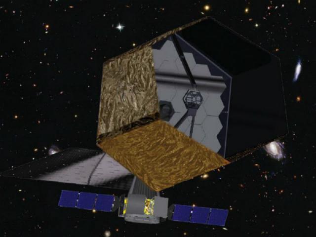 Один из вариантов дизайна телескопа ATLAST (Иллюстрация NASA).