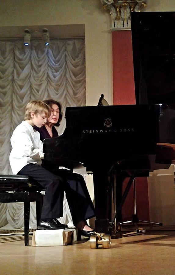Конкурс вдвоем за роялем