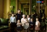 Три портрета королевы Великобритании опубликованы в честь ее юбилея