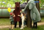 Театр Образцова поздравил юных зрителей с Днём защиты детей