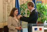 Посол Франции вручил награды российским ученым