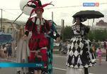 В Туле стартовал международный фестиваль уличных театров