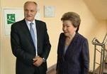 Наина Ельцина побывала на телеканале