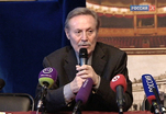 Юрий Соломин отмечает 55-летие творческой деятельности