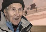 Московский пенсионер в 95 лет встал на горные лыжи