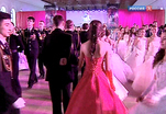 В столице прошел Кремлевский бал для воспитанников кадетских корпусов и детских домов России