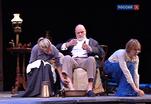 Владас Багдонас сыграл профессора Серебрякова в спектакле