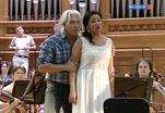 Хворостовский и Нетребко: двойной концерт перед московской публикой