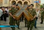 В Петербург доставлен крест Андрея Первозванного
