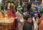 В Петропавловском соборе отслужили панихиду по семье Николая Второго