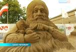 В Петербурге проходит фестиваль песчаных скульптур