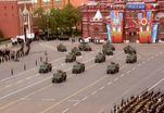 Сегодня состоялась генеральная репетиция Парада Победы