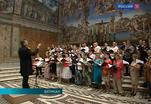 Русская духовная музыка среди фресок Микеланджело