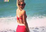 Мария Кириленко предпочитает купальники в стиле ретро