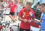 Велогонщики штурмуют Альпы по шпаргалке
