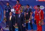Российские борцы привезли из Лас-Вегаса 14 медалей