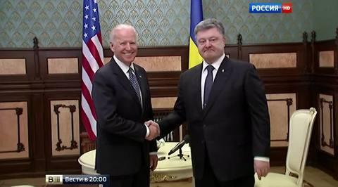 США не жалеют слов для Украины: Байден общается с Порошенко чаще, чем с женой