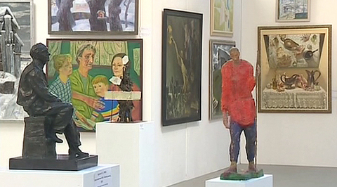 Союз художников Петербурга отмечает 85-летие выставкой в Манеже на Исаакиевской площади