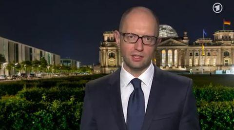Яценюк назвал освобождение Европы и Украины от нацистов агрессией