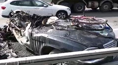 Авария на МКАД: пассажирка