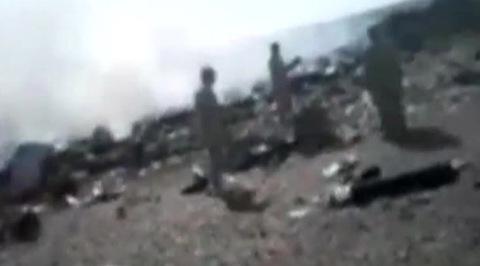 В Интернете появилось видео первых минут после крушения A321 на Синае