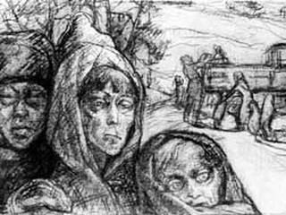 Выставка о Ленинградской блокаде проходит в Кембридже