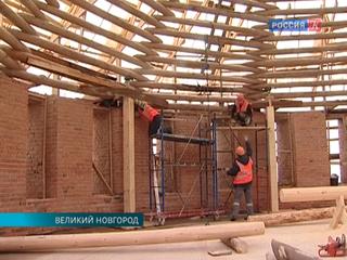 В Великом Новгороде идет реставрация Белой башни