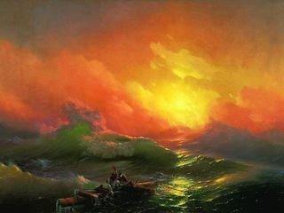 Русский музей отправит в Третьяковскую галерею несколько картин Айвазовского
