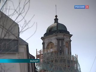 В Выборге идут съемки сериала Сергея Урсуляка