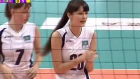 Казахстанская волейболистка стала новым секс-символом соцсетей