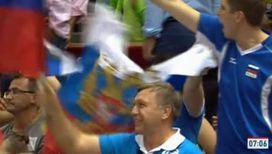 Волевая победа сборной России по волейболу