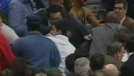 Ночь позора. Баскетболисты избили болельщиков