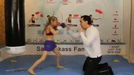 8-летняя девочка-боксер стала звездой интернета