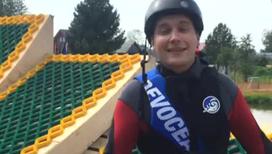 Что побудило телеведущего освоить лыжный фристайл